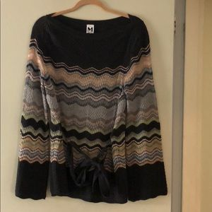 Missoni belted sweater